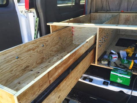 Diy Van Slide Out Drawers