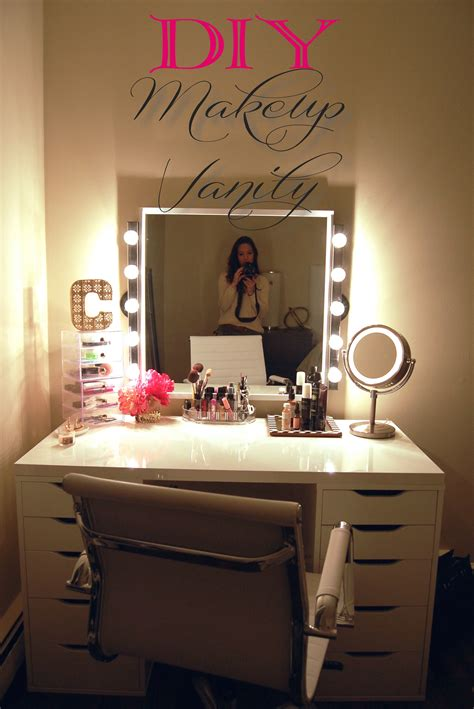 Diy Vanity Desk In Bedroom
