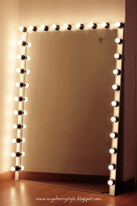 Diy Vanity Mirror Frame With Lights