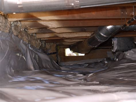 Diy Vapor Barrier For Crawl Space
