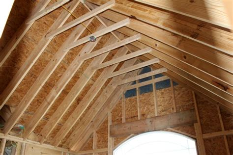 Diy Vaulted Ceiling Framing