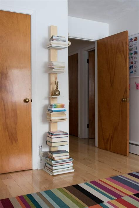 Diy Vertical Bookshelf