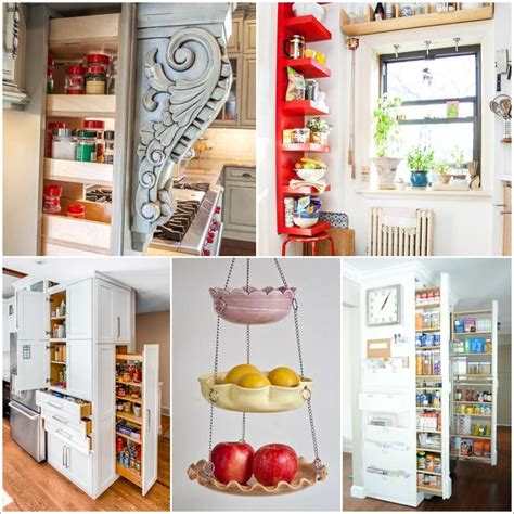 Diy Vertical Kitchen Storage
