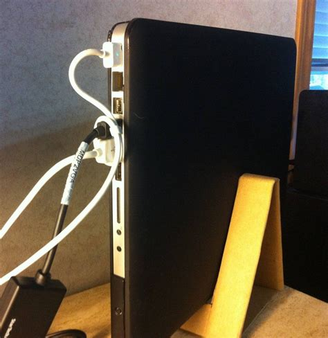 Diy Vertical Laptop Stand