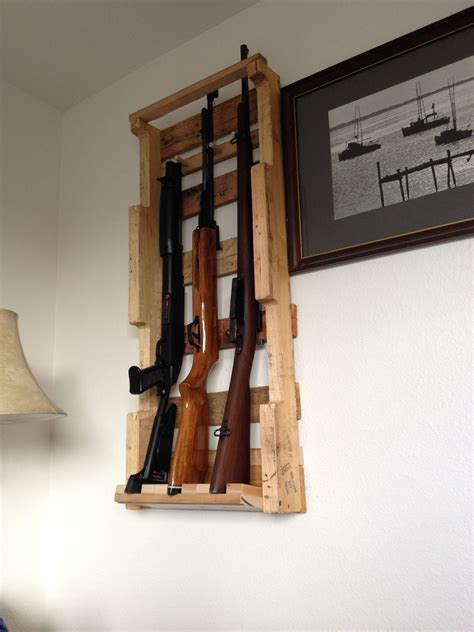 Diy Vertical Rifle Rack