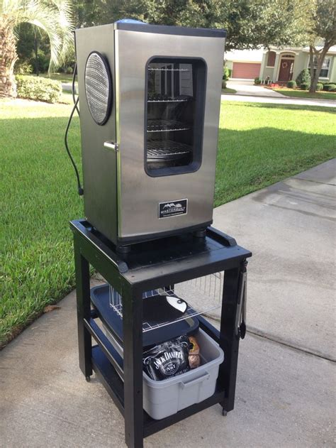 Diy Vertical Smoker Stand