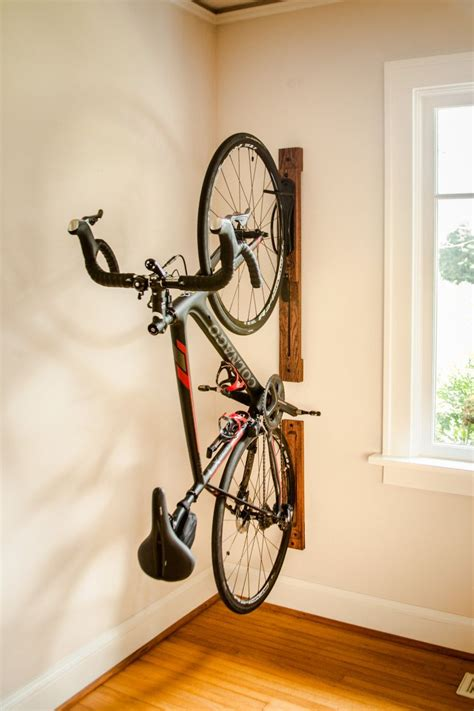 Diy Vertical Wall Bike Rack