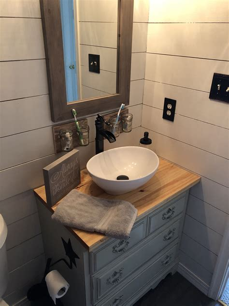 Diy Vessel Sink Vanity