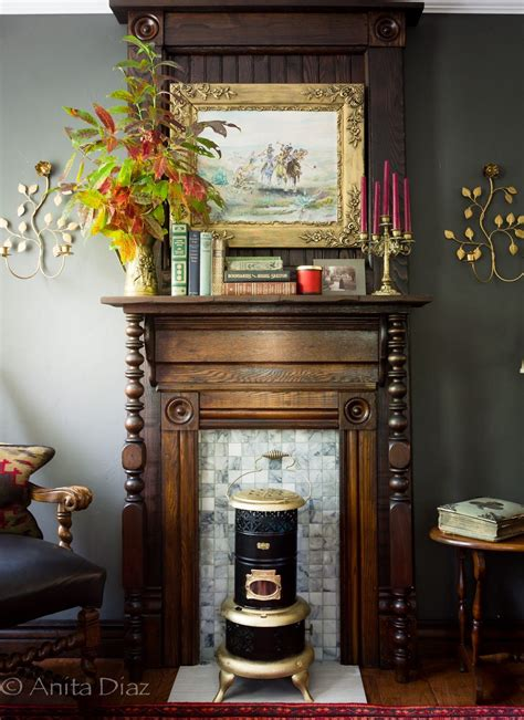 Diy Victorian Mantel Surround