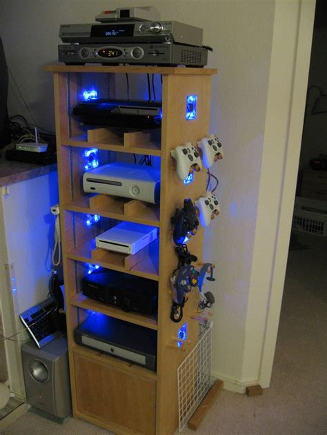 Diy Video Game Console Shelves
