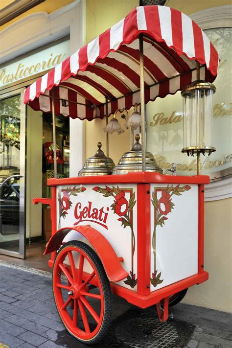 Diy Vintage Ice Cream Cart