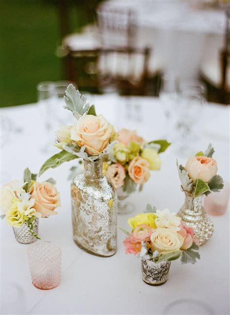 Diy Vintage Wedding Table Decorations