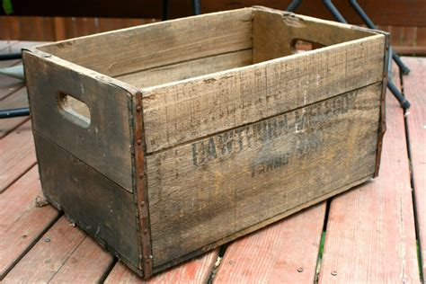 Diy Vintage Wood Box