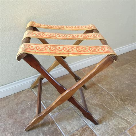 Diy Vintage Wood Folding Luggage Rack