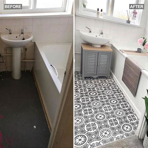Diy Vinyl Plank Flooring Bathroom