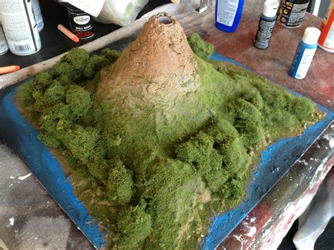 Diy Volcano School Project