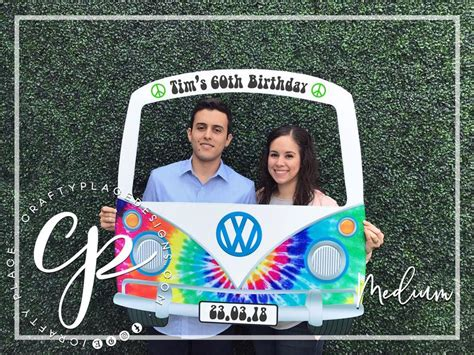 Diy Vw Bus Photo Booth Backdrop
