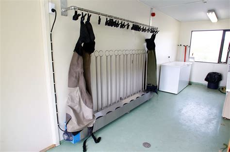 Diy Wader Drying Rack