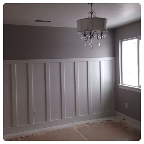 Diy Wainscoting Accent Wall
