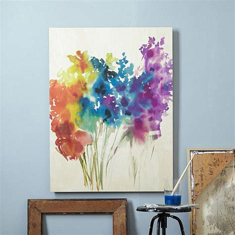Diy Wall Art On Canvas Oil Paint Tutorial