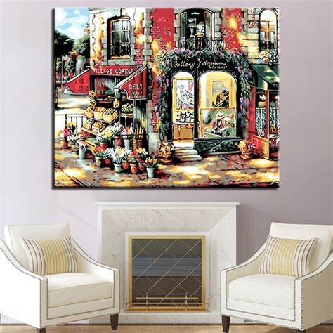 Diy Wall Art Using Picture Frames And Paint