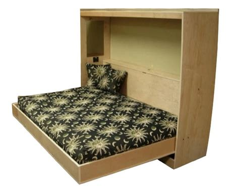 Diy Wall Bed Frame Plans