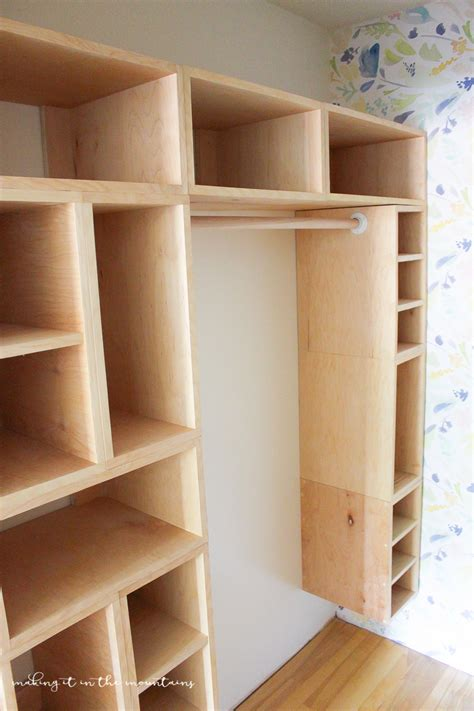 Diy Wall Closet On Pinterest