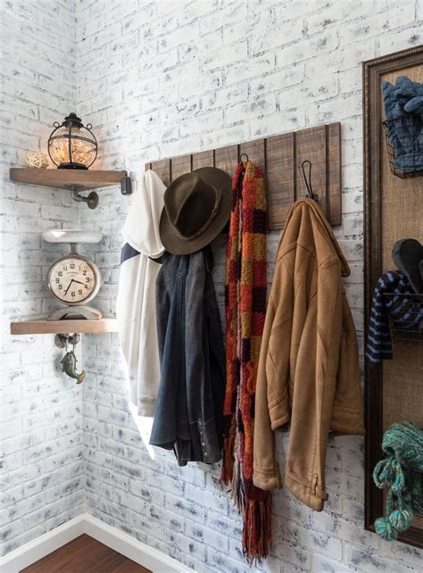 Diy Wall Coat Rack With Hooks