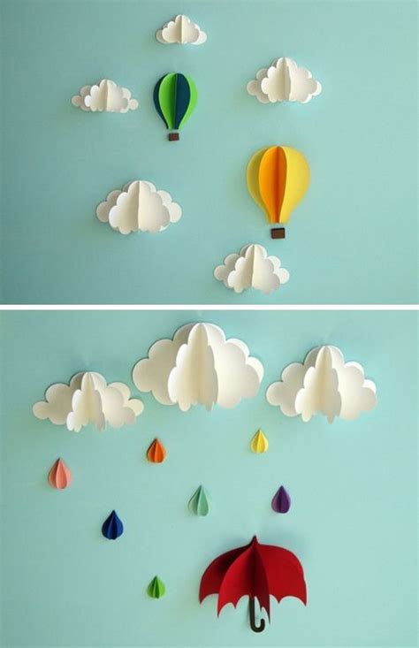 Diy Wall Decor Paper Crafts