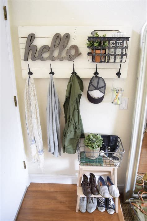 Diy Wall Hooks For Coats