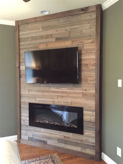 Diy Wall Mount Fireplace Ideas