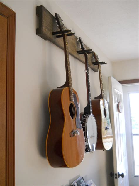 Diy Wall Mounted Guitar Rack Plans