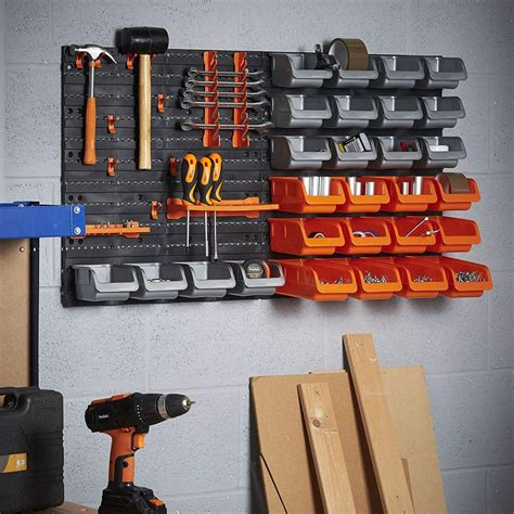 Diy Wall Mounted Tool Storage