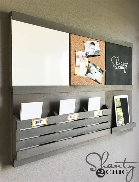 Diy Wall Organizer Boards