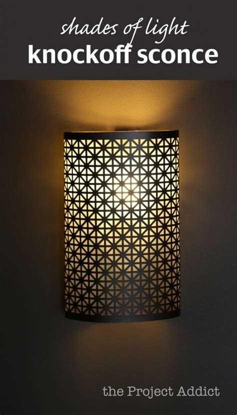 Diy Wall Sconce Shade