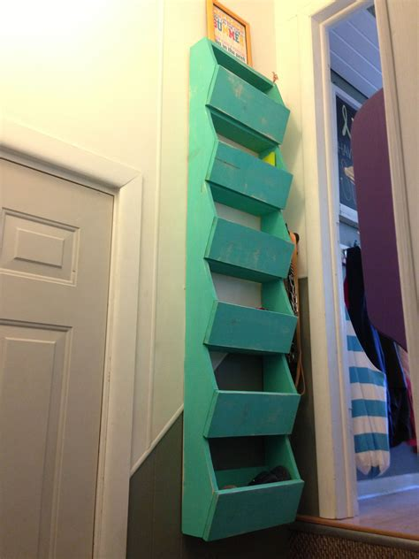 Diy Wall Storage Cubes