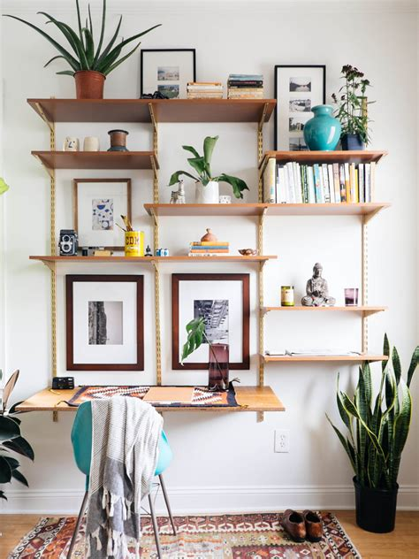Diy Wall Unit With Desk