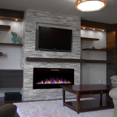 Diy Wall Unit With Electric Fireplace