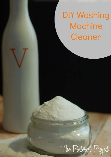 Diy Washing Machine Cleaner He