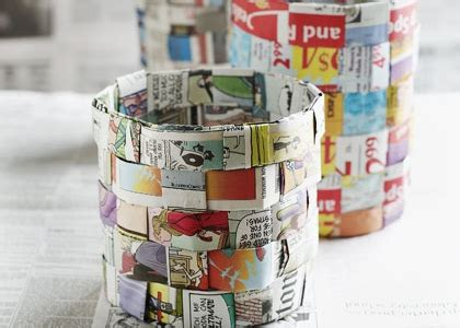 Diy Waste Paper Basket