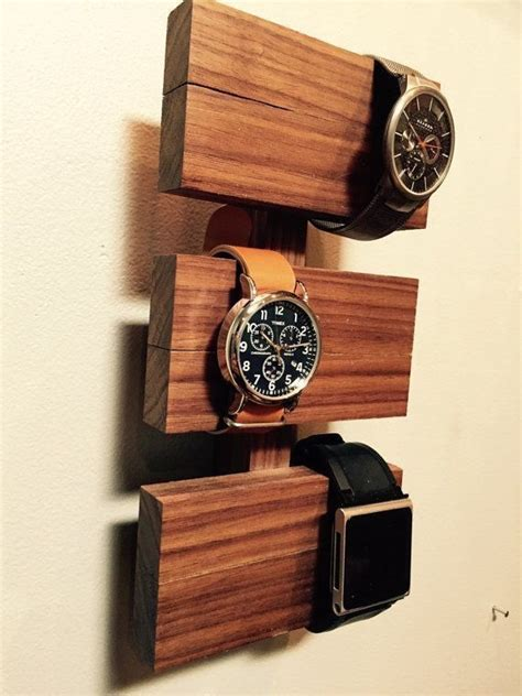 Diy Watch Holder Wood