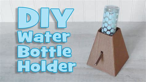 Diy Water Bottle Stand Hamsters
