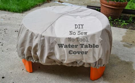 Diy Water Table Cover