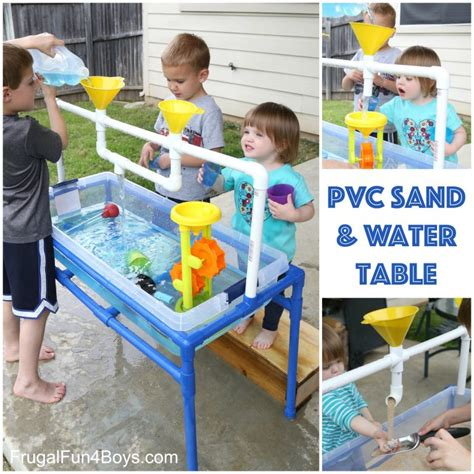 Diy Water Table Kids Pvc