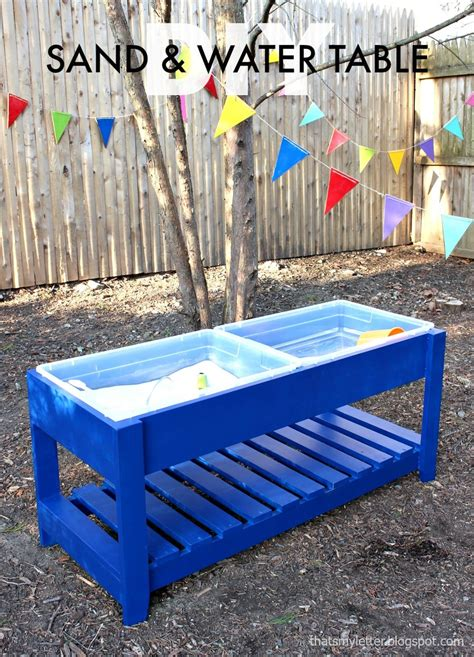 Diy Water Table Plans