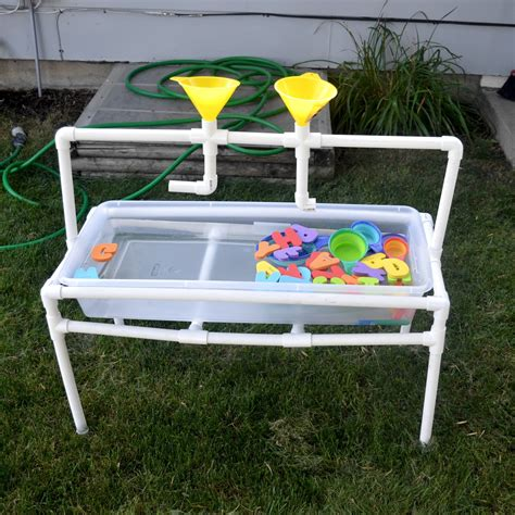 Diy Water Table With Pvc