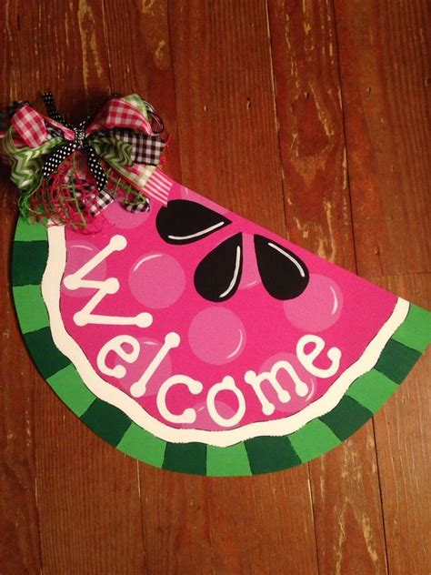 Diy Watermelon Door Hanger