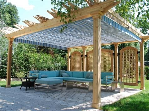 Diy Waterproof Pergola Cover