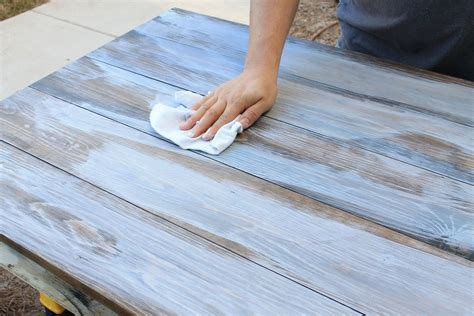 Diy Weathered Wood Grey Stain