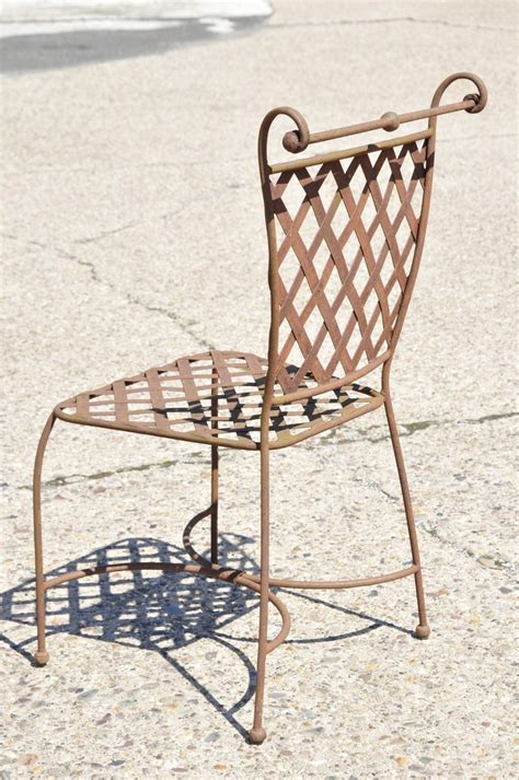 Diy Weave Outdoor Rod Iron Chair Backs